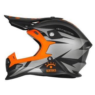 Capacete Motocross Trilha - Pro Tork Fast Rally dos Sertões