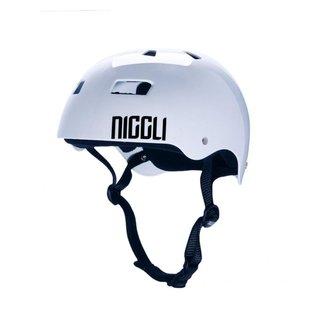 Capacete Niggli Pads Profissional Iron Brilho