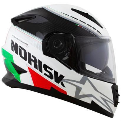 Capacete Norisk Ff302 Grand Prix Italy Com Viseira Solar - Unissex