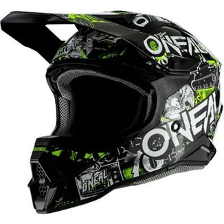 Capacete ONeal 3Series Attack 2.0  Neon