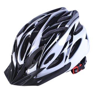 Capacete para ciclismo MTB / SPEED Branco Com Viseira