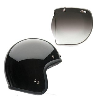 Capacete para Moto Bell Helmets Custom 500 B15643 + Viseira Bubble Deluxe