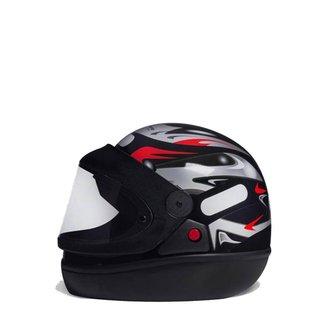 Capacete Para Moto Integral San Marino Grafic
