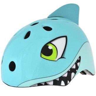 Capacete Proteção Infantil Ciclismo Bike Kidzamo Tubarão