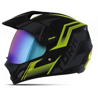 Capacete Protork Motocross  Th-1 New Adventure Vision Unissex