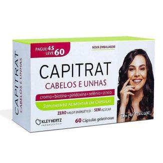 Capitrat Nutrição Capilar 60 Cápsulas Kit 25 Caixas
