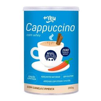 Cappuccino Proteico com Whey, Canela e Pimenta 200g +MU