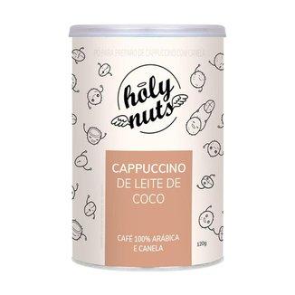Cappuccino Vegano de Leite de Coco Holy Nuts 120g +MU