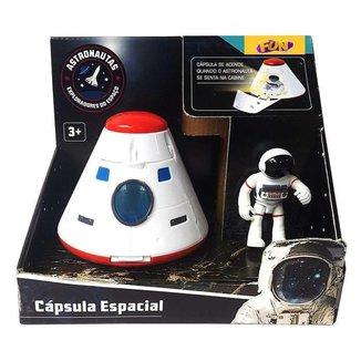 Cápsula Espacial Fun com Figura e Luz Astronautas