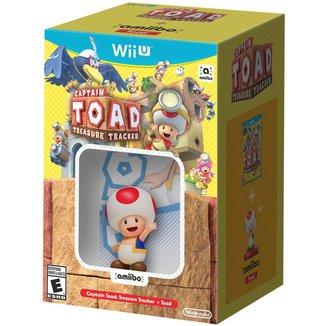 Captain Toad: Treasure Tracker + Toad Amiibo - Wii