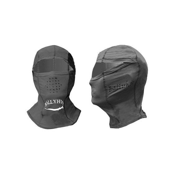 Capuz ninja Ballyhoo com fator de proteção solar 50  UPF - Cinza