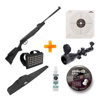 Carabina de Pressão Beretta RX20 Dynamic Nitro 5.5mm +Luneta+Capa+Chumbinho+Alvos - Stoeger Airguns