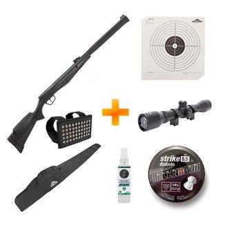Carabina de Pressão Beretta RX20 S3 Suppressor 5.5mm +Luneta+Capa+Chumbinho+Alvos - Stoeger Airguns