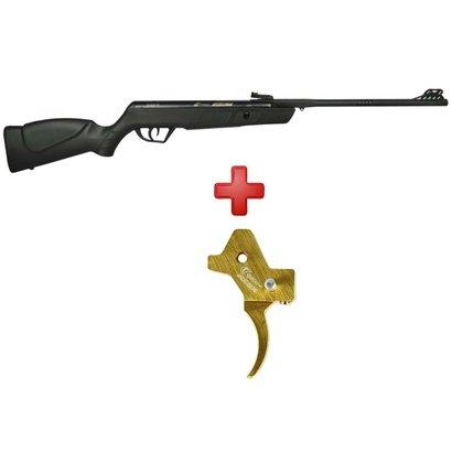 Carabina de Pressão CBC Jade Oxidada 4.5mm + Gatilho Ajustável - Unissex