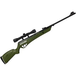 Carabina de Pressão CBC Jade PRO Oxidada Verde 5.5mm + Luneta 4x32