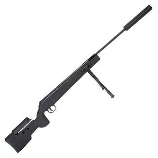 Carabina de Pressão QGK Eagle Black 850FPS  5.5mm com Bipé