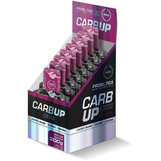 Carb-UP Gel Black c/ 10 Unidades - Probiótica -