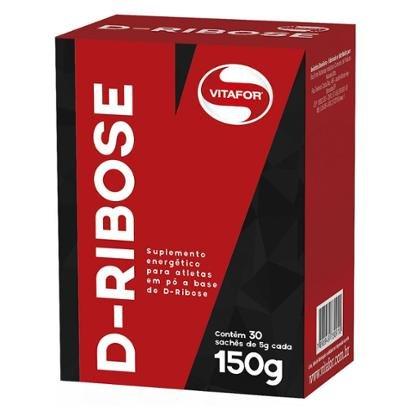 Carboidrato De Rápida Absorção D-Ribose - Vitafor - 30 Saches
