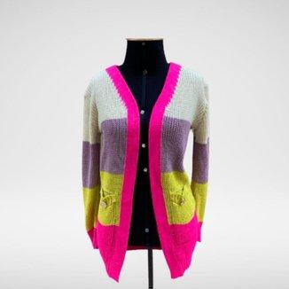 Cardigan Tricot Lurex Luíza - Glam Tricot