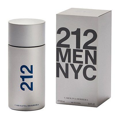 Carolina Herrera Perfume Masculino 212 NYC Men EDT 200ml