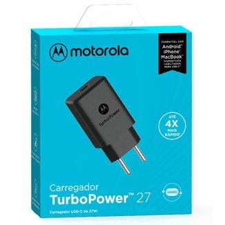 Carregador de Parede Motorola Turbo Power