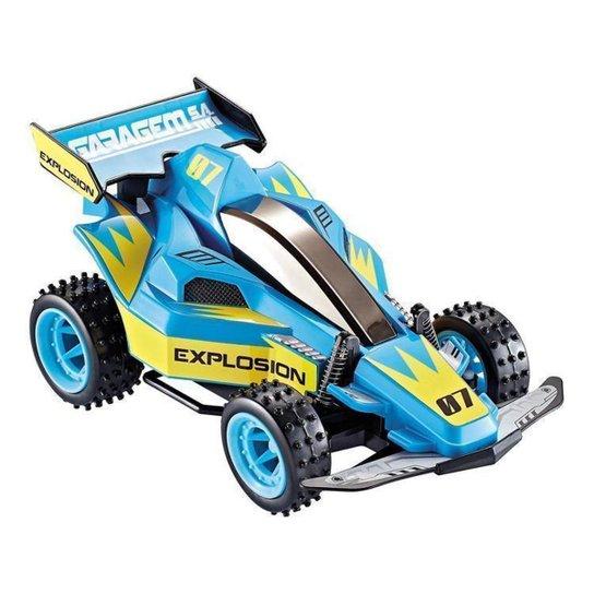 Carrinho de Controle Remoto Garagem S.A Explosion - Azul