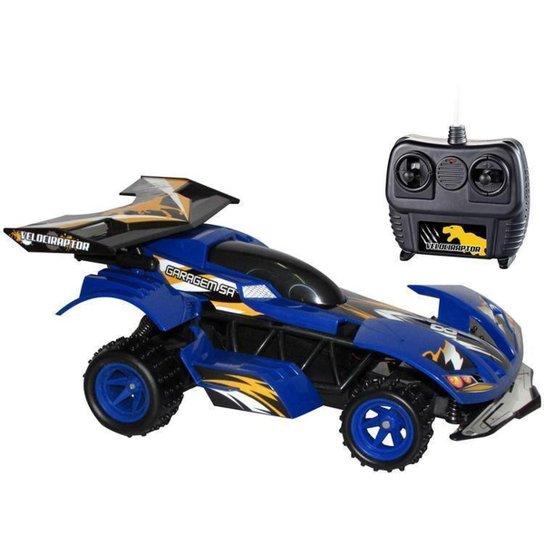 Carrinho de Controle Remoto Garagem SA - Azul