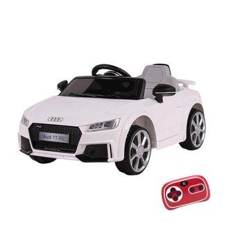 Carrinho Elétrico Infantil Audi TT RS 12V Com Controle Remoto Belfix Branco