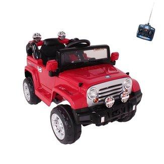 Carro Infantil Eletrico Jipe Trilha 12V Com Controle Remoto