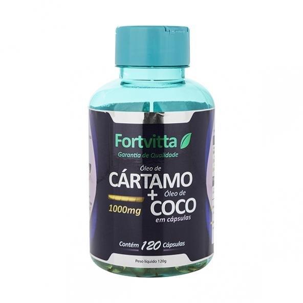 7da0a9037 Cártamo + Coco 120 cápsulas - Fortvitta - Compre Agora