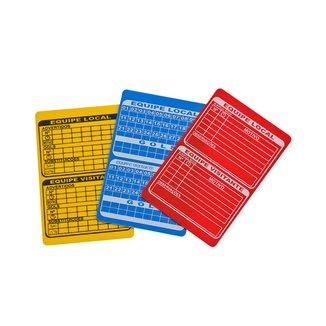 Cartão de Árbitro - Futsal Winner