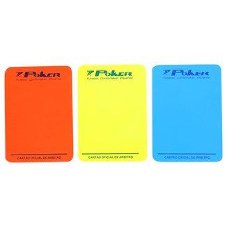 Cartão Poker Árbitro Oficial Futsal