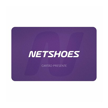 Oferta Cartão Presente Netshoes R$ 120,00 por R$ 120