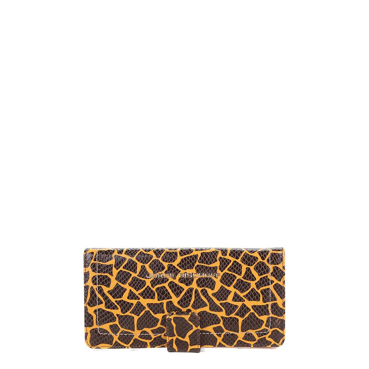 0894da420 Carteira Couro Jorge Bischoff Girafa Feminina - Compre Agora | Netshoes