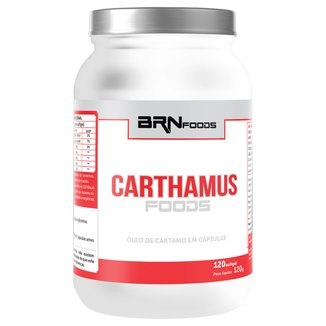 Carthamus Foods 120 Cáps - BR Nutrition Foods
