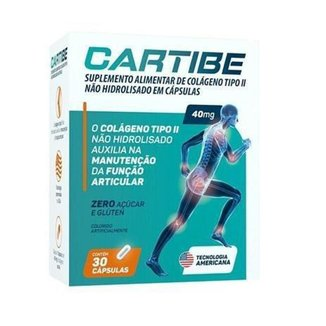 Cartibe 40 Mg 60 Cp Colageno Tipo Ii Ems.