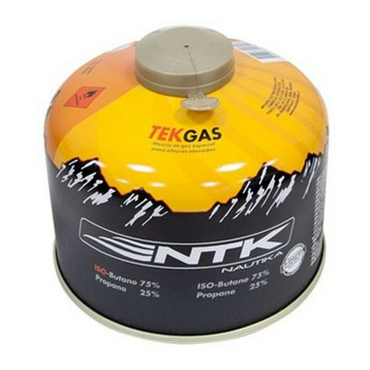 Cartucho de Gás 230g Nautika TEKGAS com Válvula de Segurança