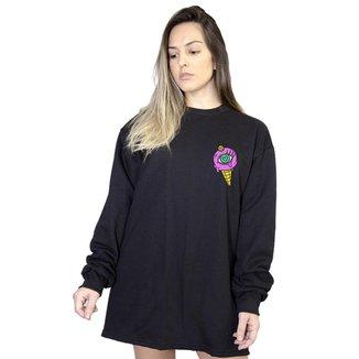 Casaco Moletom Boutique Judith Purple Ice