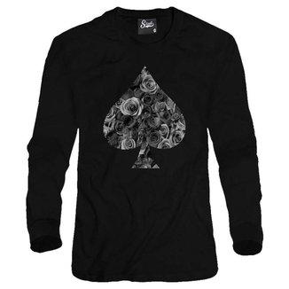Casaco Moletom Skull Clothing Poker Masculino