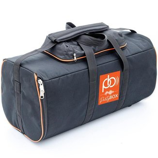 Case Bolsa Bag Som Partybox 300 Com Bolso Cabos Almofadada