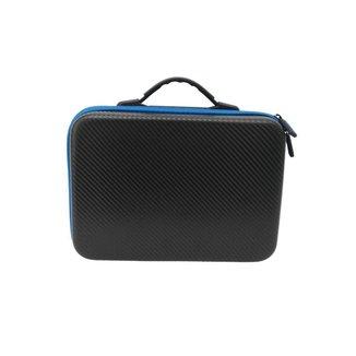 Case Maleta Para Drone DJI Spark - Cor Preto e Azul