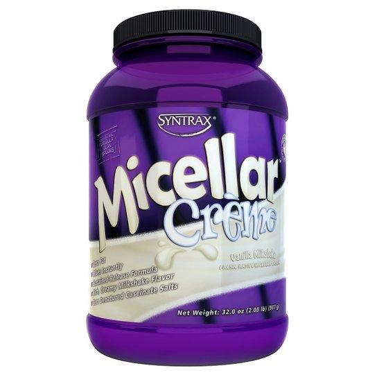 Caseína Micellar Creme MilkShake 916 g - Syntrax -
