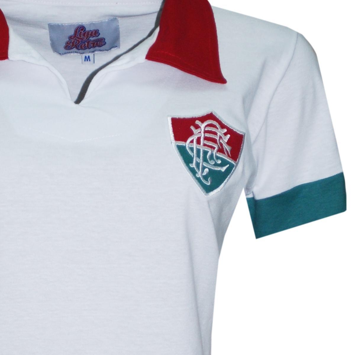 0baf32a1b7 Casmisa Polo Liga Retrô Fluminense 1964 Feminino - Compre Agora ...
