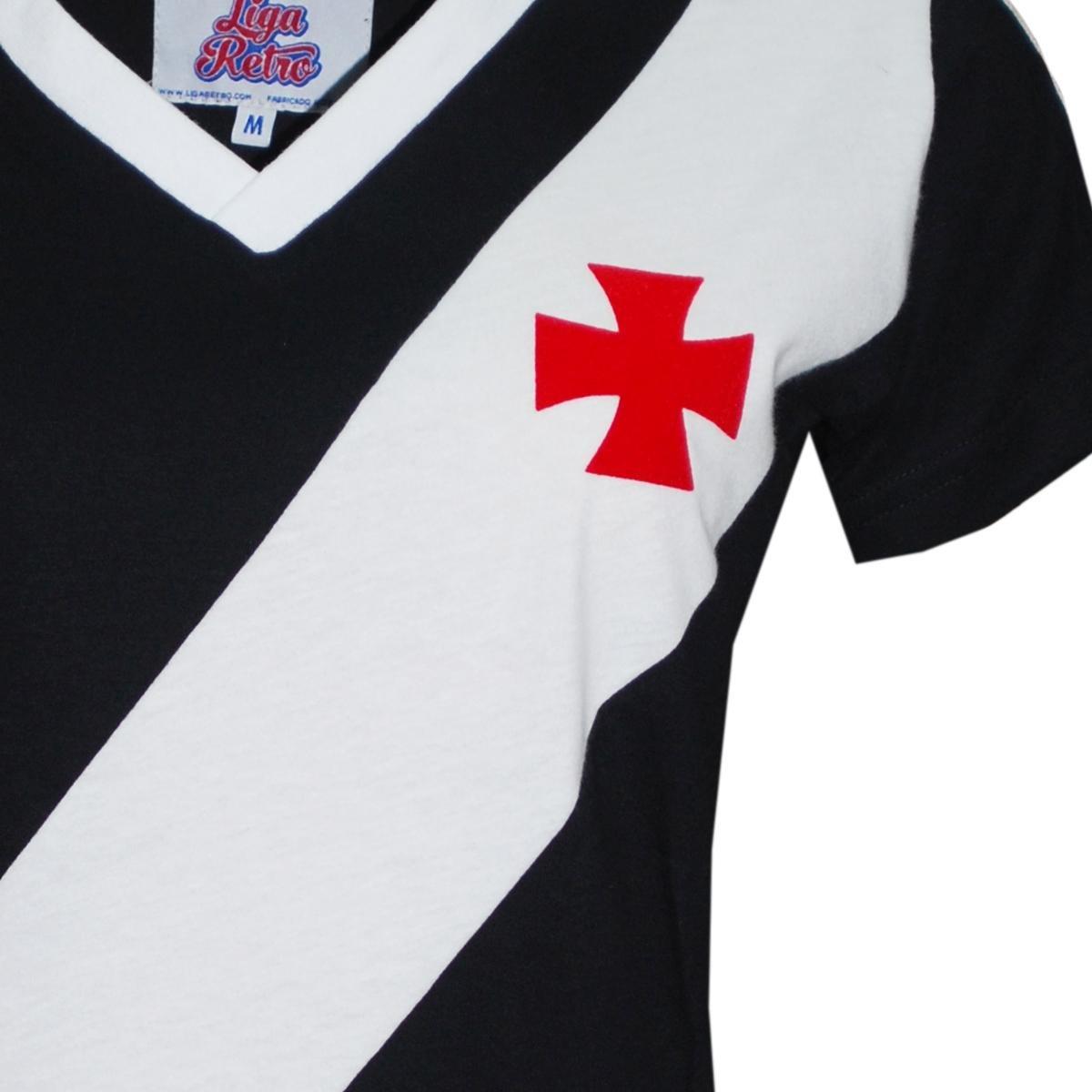 Casmisa Polo Liga Retrô Vasco 1989 Feminino - Preto - Compre Agora ... 13bd62848edd3
