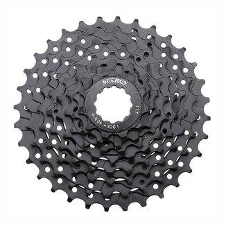 Cassete Bike Sunrun k-8 11/32d cor preto