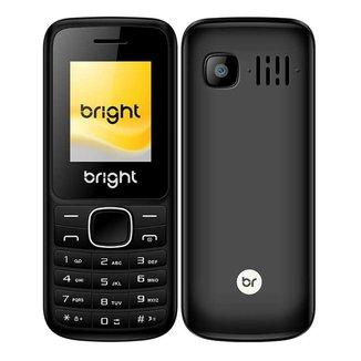 Celular Barra Dual Chip com Câmera Mp3 e Bluetooth Preto 405 Bright