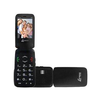 Celular Lenoxx CX 908 Dual Chip Rádio FM Bluetooth MP3 Player