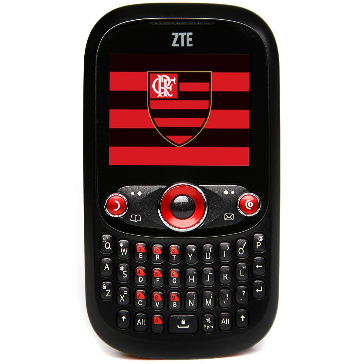 Celular Zte Flamengo R236 Preto