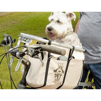 Cesta Cadeirinha Para Cachorro Bike Pet Basket Ajustável Desmontável