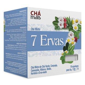 Chá 7 Ervas Cx10 Sachês de 1,2g